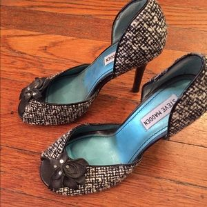 Women's heels peep-toe pumps